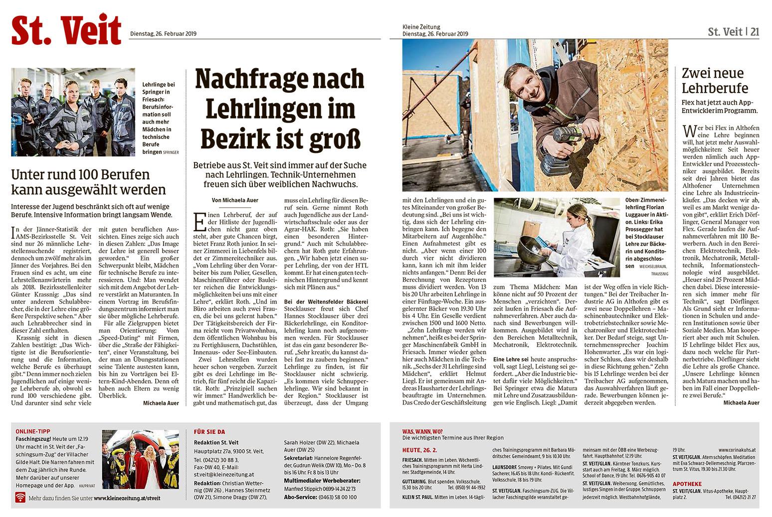 Kleine Zeitung Bericht